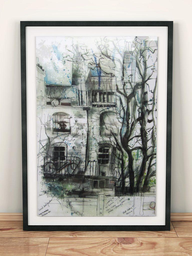 01-giclee-North-london-landscape-framed