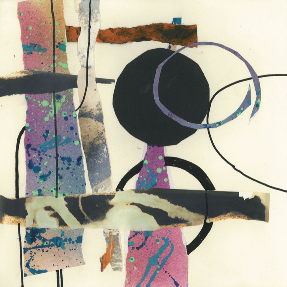 Playtime 3 - Originally in collage but now available as Giclée Prints and Gift Cards